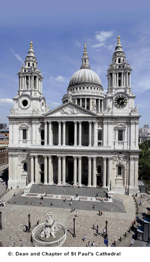 StPauls cathedral tour blue badge guide
